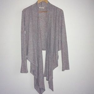 Anthropologie Pure+Good rayon draped cardigan L
